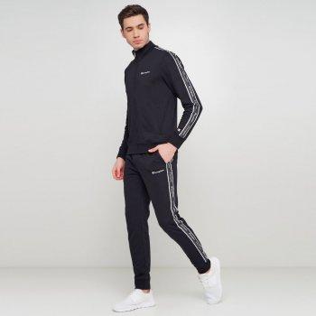 Чоловічий спортивний костюм Champion Full Zip Suit Чорний (cha214412-NBK/NBK)