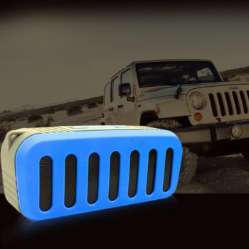 Портативна Bluetooth колонка NR2013 Blue NewRixing T_LA27842