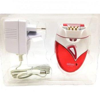 Эпилятор Browns km-2999 с охлаждением Белый/Красный