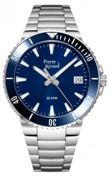 Мужские часы Pierre Ricaud P91075.Y115Q