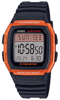 Чоловічий годинник Casio W-96H-4A2VEF