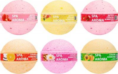 Упаковка солевых бомбочек для ванны Bioton Cosmetics Микс 75 г х 20 шт (4820026154053)