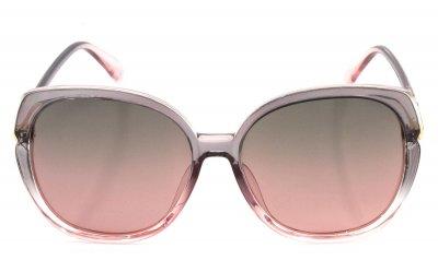 Солнцезащитные очки женские поляризационные SumWin 3225 Серо-розовый градиент