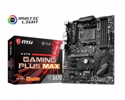 Материнська плата MSI X470 Gaming Plus Max Socket AM4
