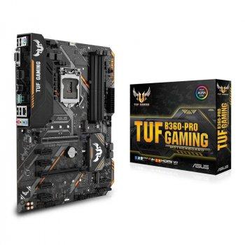 Материнська плата Asus TUF B360-Pro Gaming Socket 1151