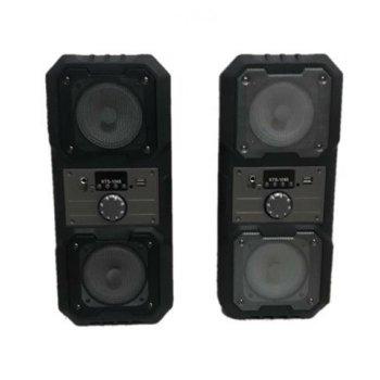Портативна Мобільна Bluetooth колонка Kts 1048 Чорна