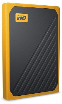 Портативный SSD USB 3.0 WD Passport Go 500GB Yellow (JN63WDBMCG5000AYT-WESN)