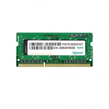 Модуль пам'яті для ноутбука SoDIMM DDR3 4GB 1600 MHz Apacer (AS04GFA60CATBGC)