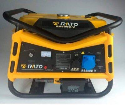 Бензогенератор Rato R5500E