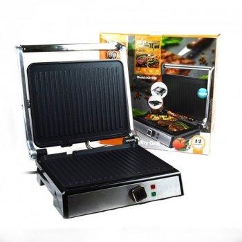 Електричний гриль DSP KB1048 з антипригарним покриттям потужність 1800 Вт з регулюванням температурою