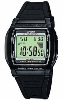 Чоловічий годинник Casio W-201-1AVEF