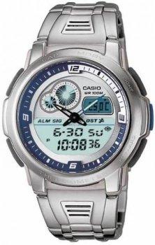 Чоловічі годинники Casio AQF-102WD-2BVEF