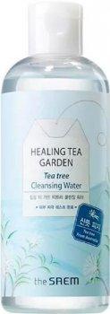 Міцелярна вода The Saem Healing Tea Garden Tea Tree Cleansing Water з чайним деревом 300 мл (8806164146859)