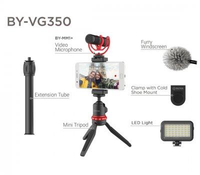 Комплект для смартфона Boya BY-VG350 (BY-VG350)