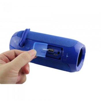 Портативна bluetooth колонка вологостійка TsG-117 Синій 45775