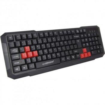 Клавиатура Esperanza EGK102 (EGK102RUA) Red USB