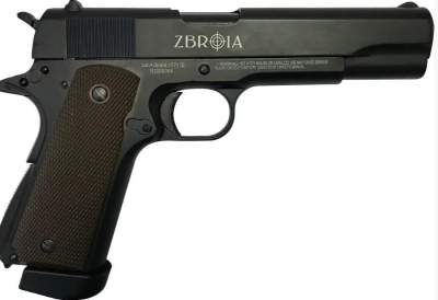 Пістолет пневматичний Zbroia M-1911 Blowback 4.5 mm (Z27.24.002)