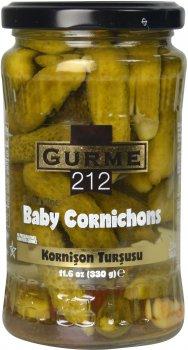 Корнишоны маринованные Gurme212 370 г (191822005585)