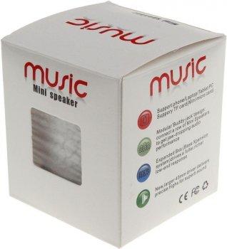 Портативная акустика TOTO A9 Shine Small Size Bluetooth Speaker White
