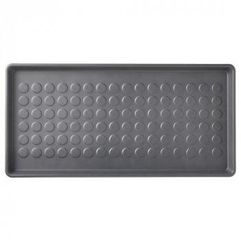 Килимок для взуття IKEA BAGGMUCK 71х35 см Сірий (603.297.11)