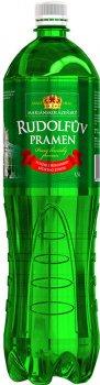 Упаковка воды Rudolfuv Pramen минеральной лечебно-столовой1.5 л х 6 шт (8594730100397)