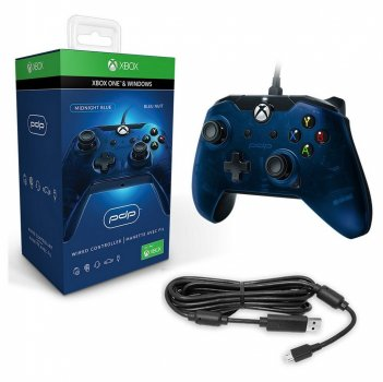 Джойстик PDP WIRED CONTROLLER для XBOX ONE & WINDOWS (MIDNIGHT BLUE)