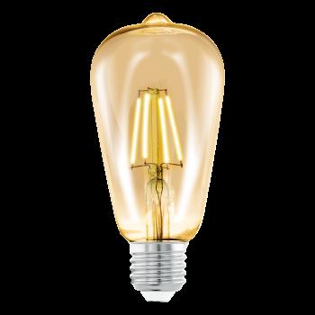 Світлодіодна лампа Eglo 11521 E27 LED ST64 4W 2200K