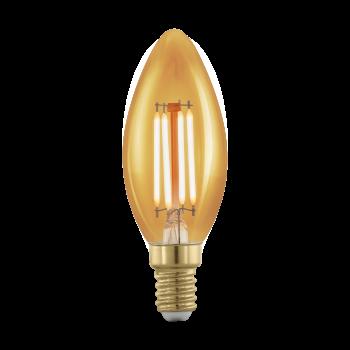 Світлодіодна лампа Eglo 11698 E14 LED C37 4W 1700K
