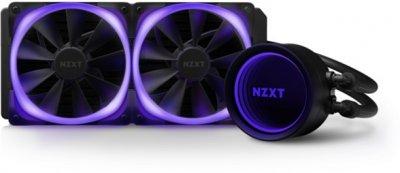 Система рідинного охолодження NZXT Kraken X53 RGB — 240 мм AIO Liquid Cooler with Aer RGB and RGB LED (RL-KRX53-R1)
