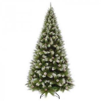 Искусственная сосна Triumph Tree зеленая с эффектом иния, 2,15 м (8718861280357)