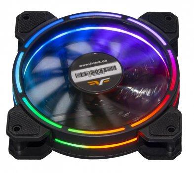 Вентилятор Frime Iris LED Fan Think Ring Multicolor (FLF-HB120TRMLT16)