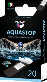 Пластырь Milplast Aquastop водостойкий стерильный 20 шт (8017990118877)