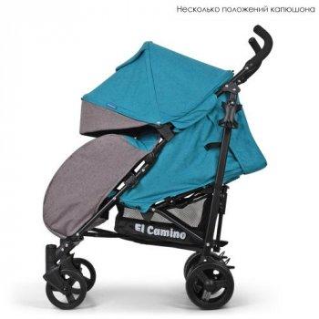 Прогулочная коляска-трость EL Camino Rush ME 1013L Turquoise