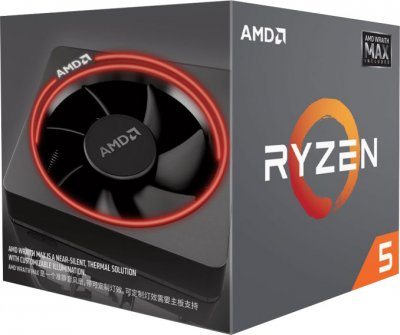 Процессор AMD Ryzen 5 2600X 3.6GHz/16MB (YD260XBCAFMAX) sAM4 BOX