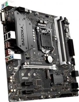 Материнська плата MSI B360M Bazooka (s1151, Intel B360, PCI-Ex16)