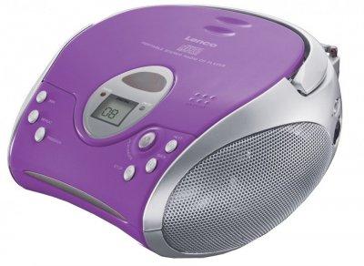 Магнитола LENCO SCD-24 Purple