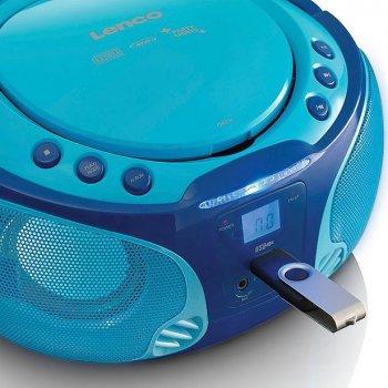 Магнитола LENCO SCD650BU blue