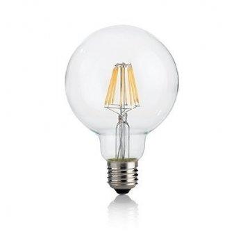 Світлодіодна лампа Ideal Lux Led Classic E27 8W Globo D95 Trasparente 4000K (153971)