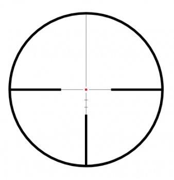 Приціл Hawke Endurance 30 WA 3-12х56 30 mm (LR Dot 8X) підсвічування (16330)