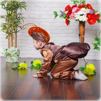 Карнавальный костюм I.V.A.moda Муравей 30 коричневый iva-466