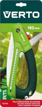 Пила садовая складная Verto 18 см (15G100)