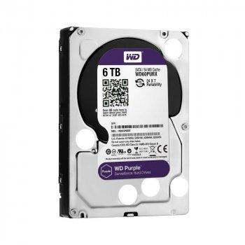 Накопичувач HDD WD SATA 6TB Purple (6TB)