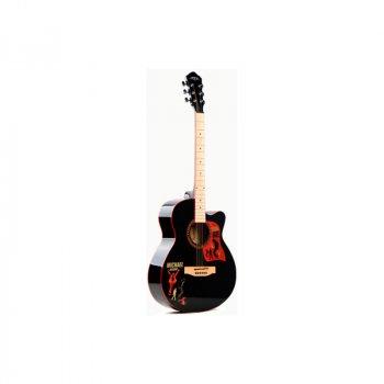 Акустическая гитара Caravan Music HS-4015 черный (HS-4015BK)