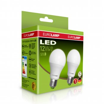 Набір світлодіодних ламп Eurolamp MLP-LED-A60-12272(E)