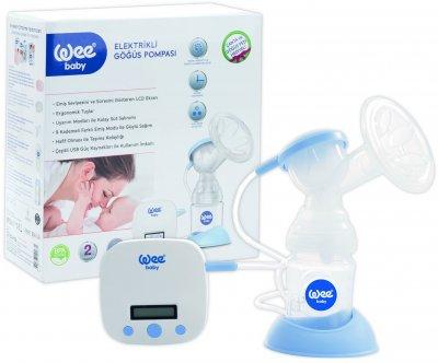Електричний молоковідсмоктувач Wee baby із заряджуваним акумулятором з малюнком (167)