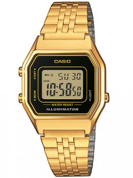 Годинник CASIO LA680WEGA-1ER Collection Unisex 28mm 3ATM