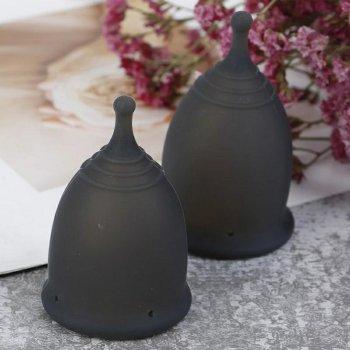 Менструальная чаша Aneer Care Black размер S с мешочком для хранения