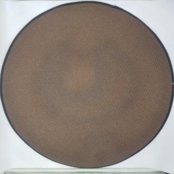Килимок 3D круглий безворсовий з 3д принтом килимок для будинку 80 см Полуниця (936486459004)