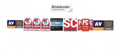 Ліцензійний антивірус BitDefender Antivirus Plus 2020 операційну систему Windows 7/8/10 (Ліцензія на 2 роки на 1 ПК)