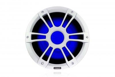 """Морські колонки (сабвуфери) Fusion SG-SL101SPW серії Signature 10"""" з LED-підсвіткою, білі"""